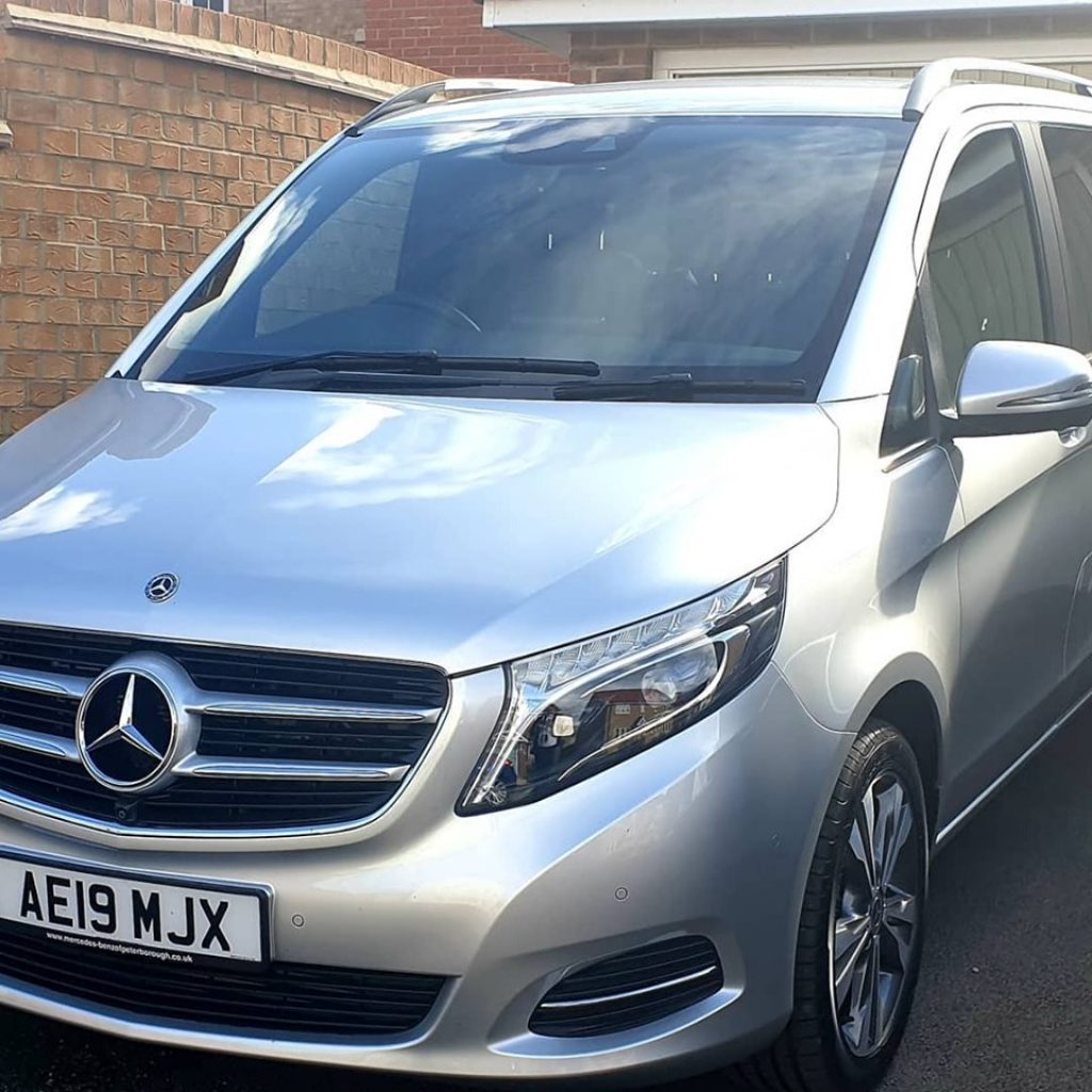 Mercedes V Class with Chauffeur Service